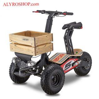 سه چرخه برقی تاشو MAD Track - موتوربرقی تاشو مد تراک